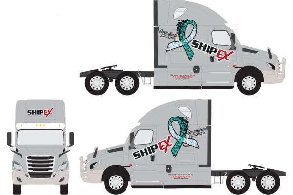 ShipEX Ovarian Cancer FRT